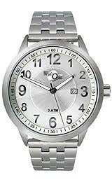 HydrOlix Three-Hand Stainless Steel/Silver Dial Mens watch #XA00201