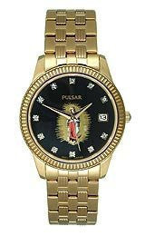 Pulsar by Seiko Gold-Tone Stainless Steel Mens watch #PXH518G