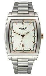 Kenneth Cole New York Bracelet Silver Dial Mens watch #KC9068