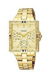 Pulsar by Seiko Gold-tone Stainless Steel Womens watch #PYR048
