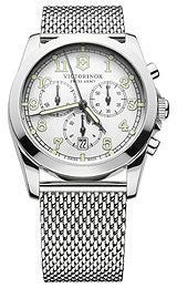 Victorinox Swiss Army Infantry Chronograph Silver-Tone Mens Watch #249066