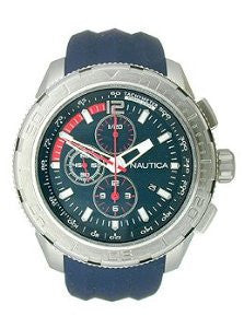Nautica NST 101 Chrono Silicone - Navy Mens watch #N18724G