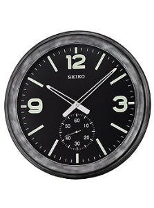 Seiko Clocks Devon Second Hand Subdial Wall clock #QXA627KLH
