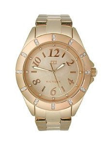 Tommy Hilfiger Three-Hand Rose Gold Stainless Steel Womens watch #1781320