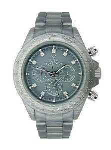 Toy Watch Pearlized Plasteramic - Gunmetal Chronograph Unisex watch #FLP08GU