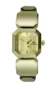 JLO Three-Hand Bracelet - Gold-Tone Womens watch #JL/2634CHGB