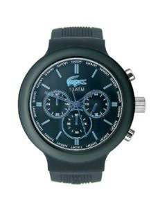 Lacoste Borneo Chronograph Silicone - Black Mens watch #2010720