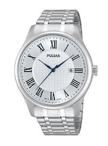 Pulsar Three-Hand Stainless Steel Mens watch #PH9039