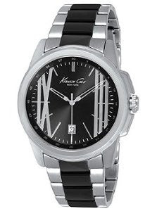 Kenneth Cole New York Skeleton Dial with Steel Link Mens watch #KC9385