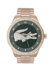 Lacoste Victoria Three-Hand Rose Stainless Steel Womens watch #2000871