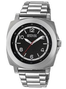 Kenneth Cole Reaction Three-Hand Stainless Steel Mens watch #RK3246