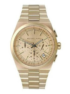 Michael Kors Channing Rose Gold-Tone Stainless Steel Chronograph Womens watch #MK5927