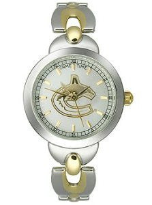 Game Time Vancouver Canucks Elegance Series Alloy Womens watch #NHL-ELE-VAN