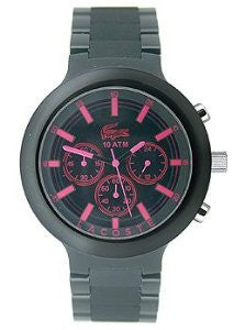 Lacoste Borneo Chronograph Black Polycarbonate Mens watch #2010771