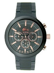 Lacoste Borneo Chronograph Black Polycarbonate Mens watch #2010769