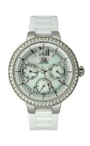 JLO Multifunction Ceramic - White Womens watch #JL/2703WMWB