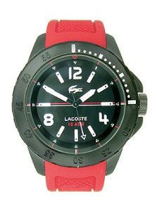 Lacoste Fidji Three-Hand Red Silicone Mens watch #2010737