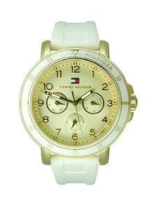 Tommy Hilfiger Multifunction White Silicone Womens watch #1781511