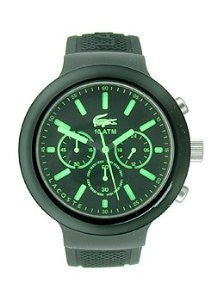 Lacoste Borneo Chronograph Black Silicone Mens watch #2010811