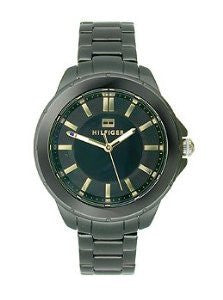Tommy Hilfiger Three-Hand Black Stainless Steel Womens watch #1781494