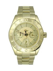 Lacoste Biarritz Multifunction Gold-Tone Stainless Steel Womens watch #2000753