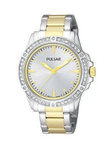 Pulsar Three-Hand Stainless Steel - Two-Tone Womens watch #PH8093