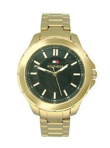 Tommy Hilfiger Three-Hand Gold-Tone Stainless Steel Womens watch #1781434