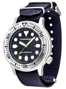 Freestyle Ballistic Diver Blue Nato Mens watch #10019174