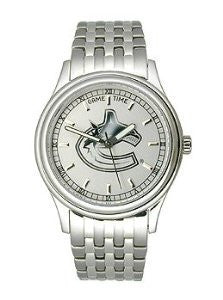Game Time Vancouver Canucks President Series Alloy Mens watch #NHL-PRE-VAN