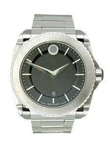 Movado Master Stainless Steel Bracelet Mens watch #0606550