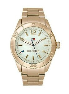 Tommy Hilfiger Three-Hand Rose Stainless Steel Womens watch #1781567