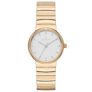 Skagen Ancher Rose Gold-Tone Stainless Steel Womens watch #SKW2200