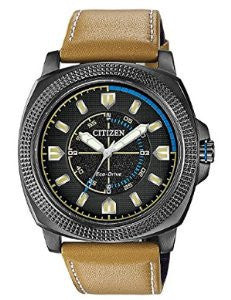 Citizen Eco-Drive Drive CTO Three-Hand Leather - Tan Mens watch #BJ6475-00E