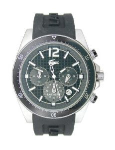 Lacoste Seattle Chronograph Silicone - Black Mens watch #2010712
