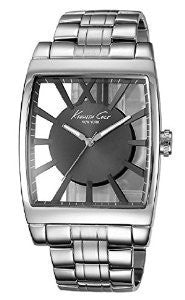 Kenneth Cole New York Transparent Stainless Steel Mens watch #KC9345