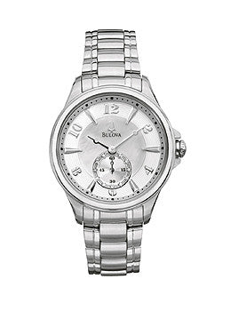 Bulova Diamond Collection Adventurer Mother-of-pearl Dial Womens watch #96P116