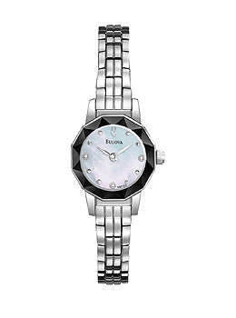 Bulova Diamond Bracelet Womens watch #96P128