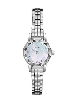 Bulova Diamond Bracelet Womens watch #96P129