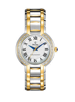 Bulova Precisionist 24 Diamond 3-Hand Womens watch #98R161