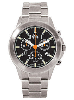 H3 TACTICAL Trooper Chrono Steel Mens watch #H3.721211.12