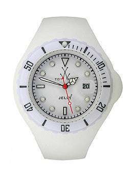 Toy Watch Jelly - White Unisex watch #JTB01WH