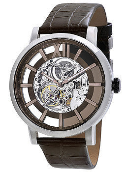 Kenneth Cole New York Automatic with Iron Brown Accents Mens watch #KC1921