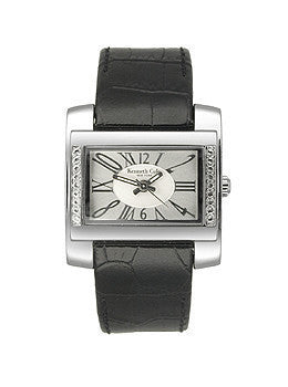Kenneth Cole New York Leather Strap Silver-tone Dial Womens watch #KC2329