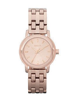 DKNY 3-Hand Analog Rose-gold Womens watch #NY8490