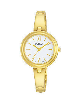 Pulsar Gold-Tone Stainless Steel Womens watch #PG2036X