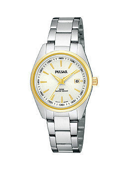 Pulsar Traditional Collection Stainless Steel - Two-Tone Womens watch #PJ2010X