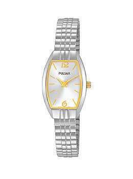 Pulsar Stainless Steel Expansion Band Womens watch #PRS669