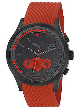 Puma Wheel Chrono - L Red Mens watch #PU102741005