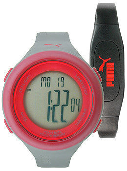 Puma Fit Heart Rate Monitor Digital Unisex watch #PU910961003