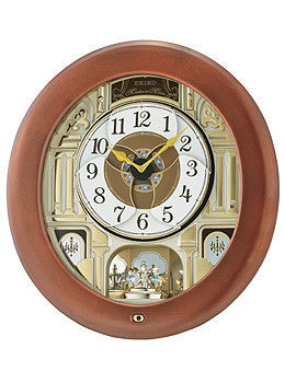 Seiko Clocks Chelsea Melodiesin Motion Wall clock #QXM539BRH